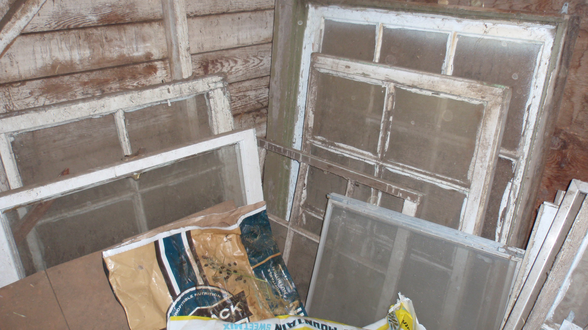 check - Distressed Window Frame