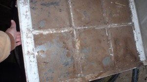 Old Stuff Wood Window Pane To Distressed Picture Frame