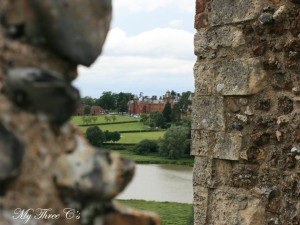 View from Framilingham Castle.  Framlingham, Norflok, England